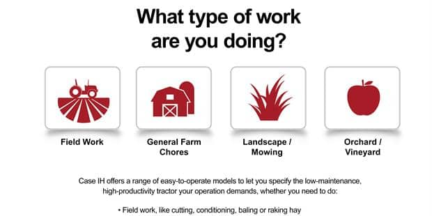 New Digital Tool Helps Producers Find the Right Red Tractor for Their Operation