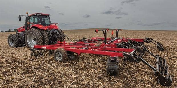 Case IH Rolls Out Rugged New True-Tandem 345 Seed Bed Disk Harrow to Handle Today's Toughest Residue