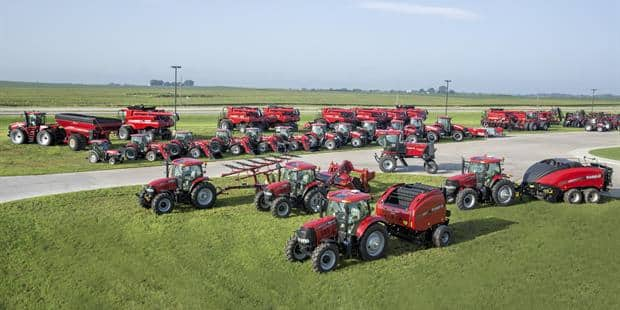 Case IH Touts Full Strength of its Full Line for 2015 Release