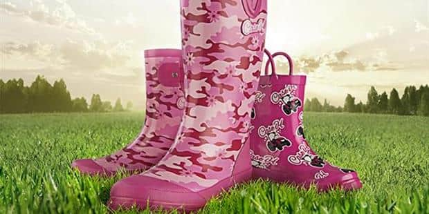 Pretty in Pink! Case IH Offers New Line of Pink Rain Boots