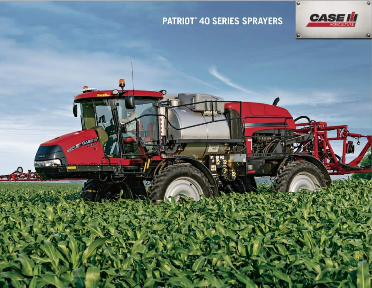 Patriot 40 Sprayer Series Brochure