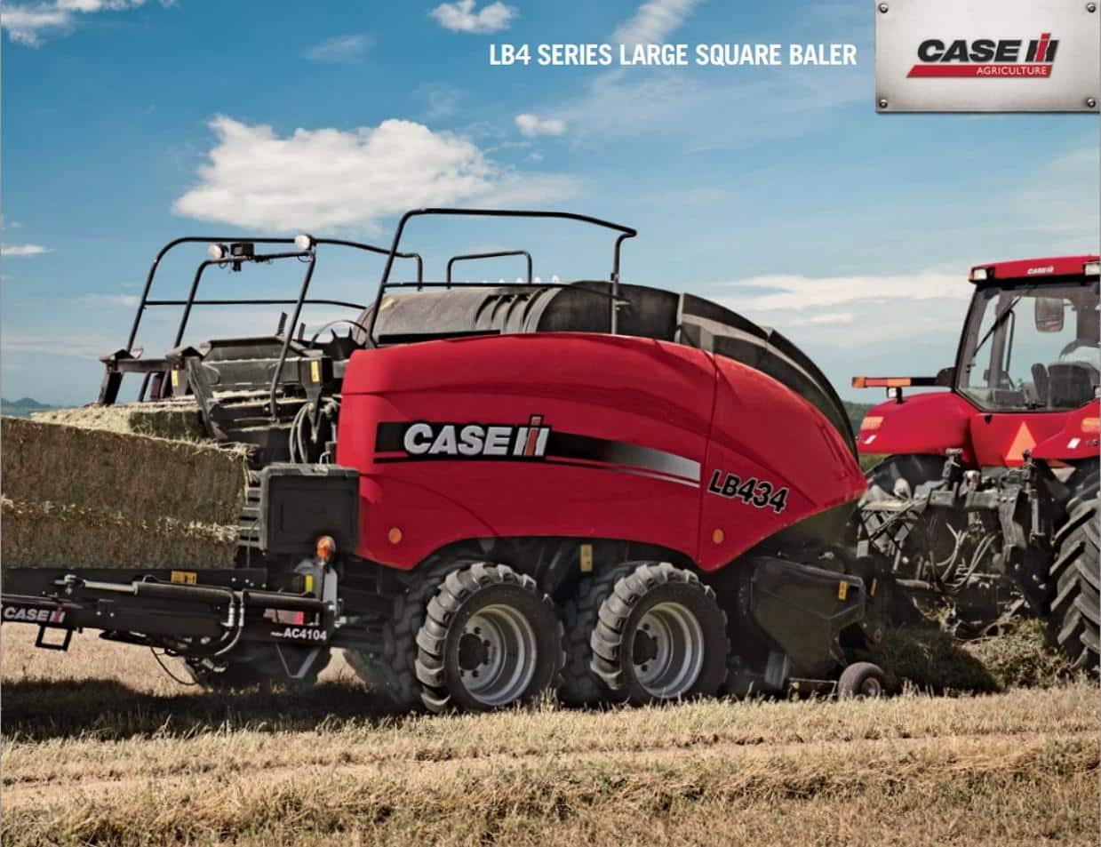 LB4 Series Large Square Baler Brochure