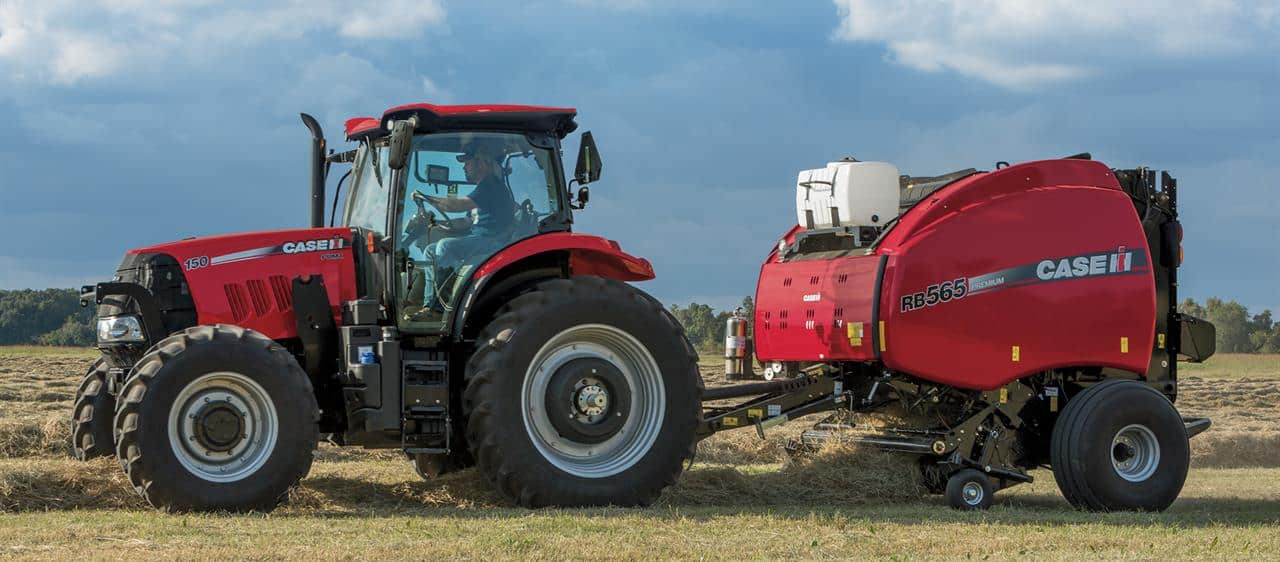 Round Balers | Hay and Foraging Equipment | Case IH on