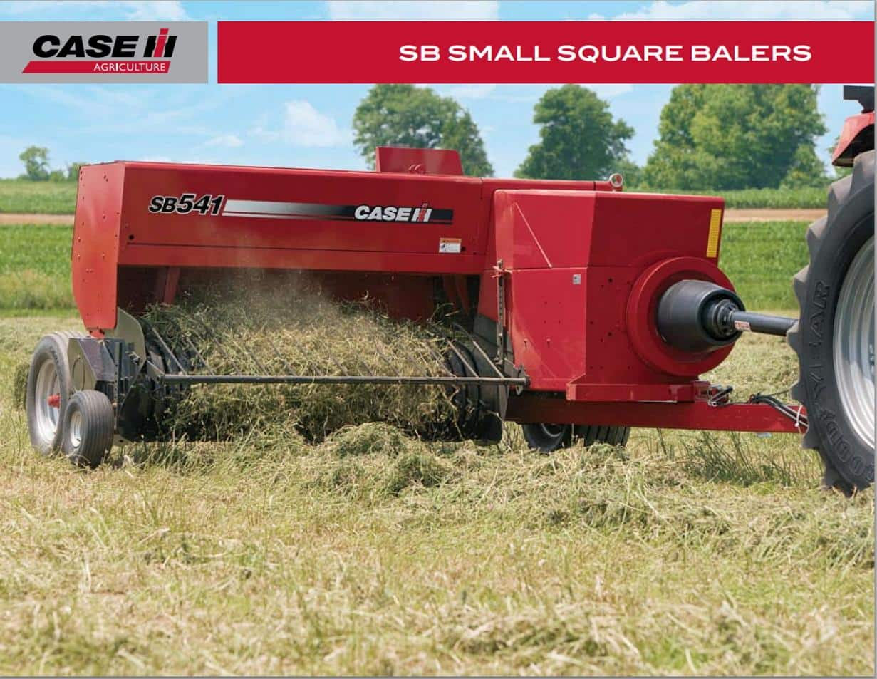 SB Small Square Balers Brochure