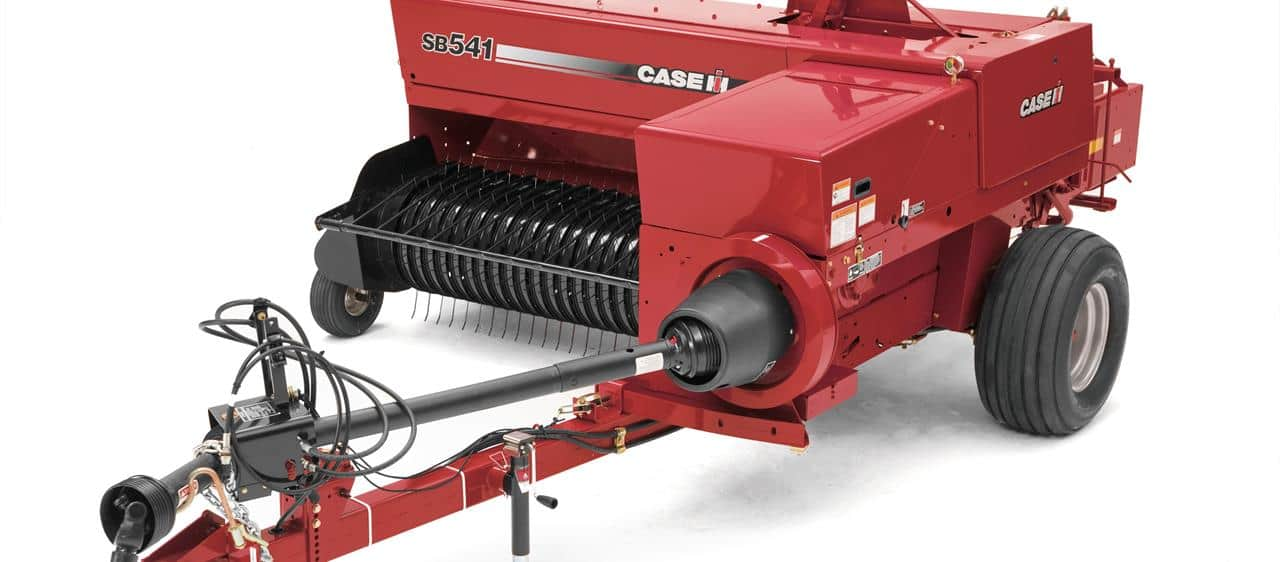 Small Square Balers | Hay and Foraging Equipment | Case IH