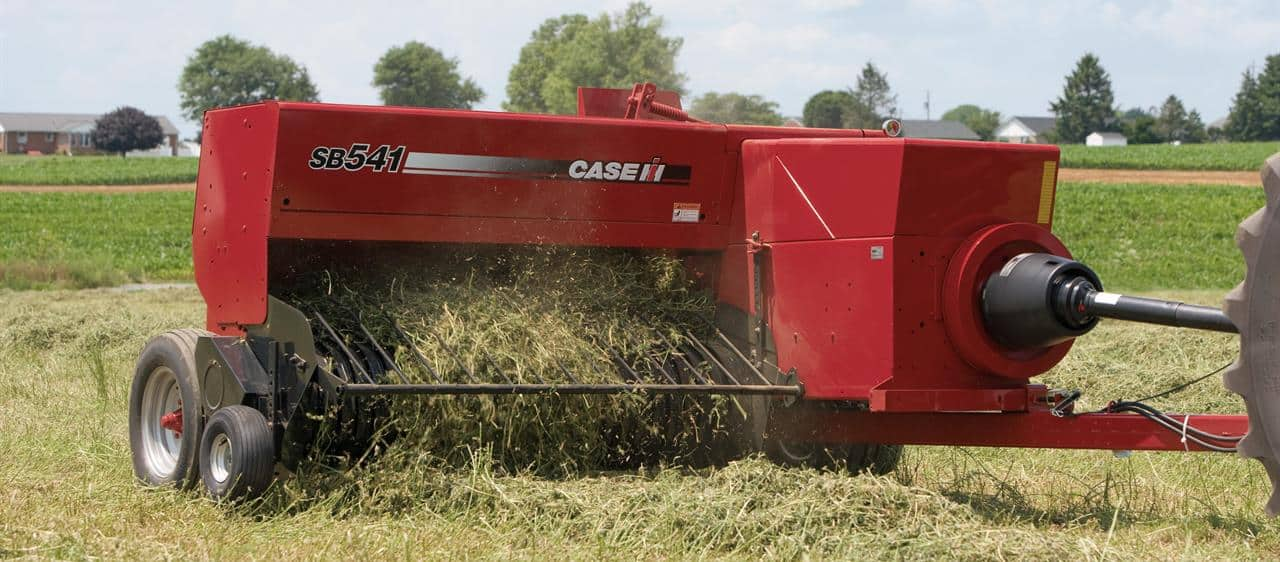 Small Square Balers Hay And Foraging Equipment Case Ih