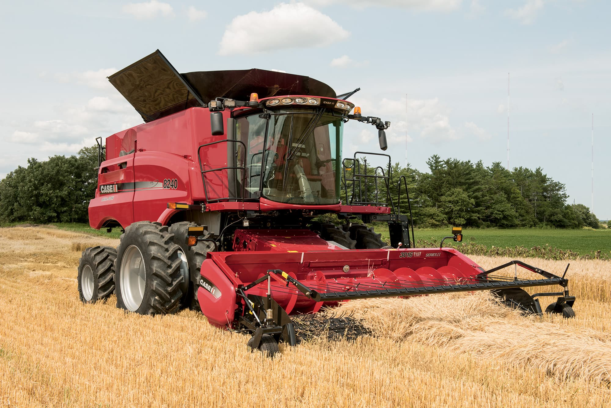 Axial-Flow® 240 Series Combines | Harvesting Equipment