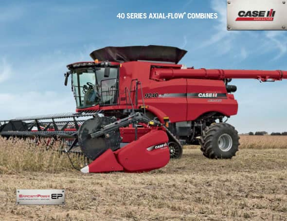 Axial-Flow Combines Brochure