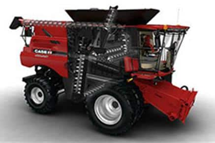 Axial-Flow Combines: Clean Grain Elevator