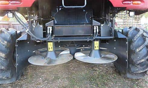Axial-Flow Combine: Dual Disc Spreader