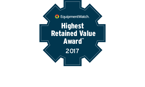 EquipmentWatch Highest Retained Value Award Winner