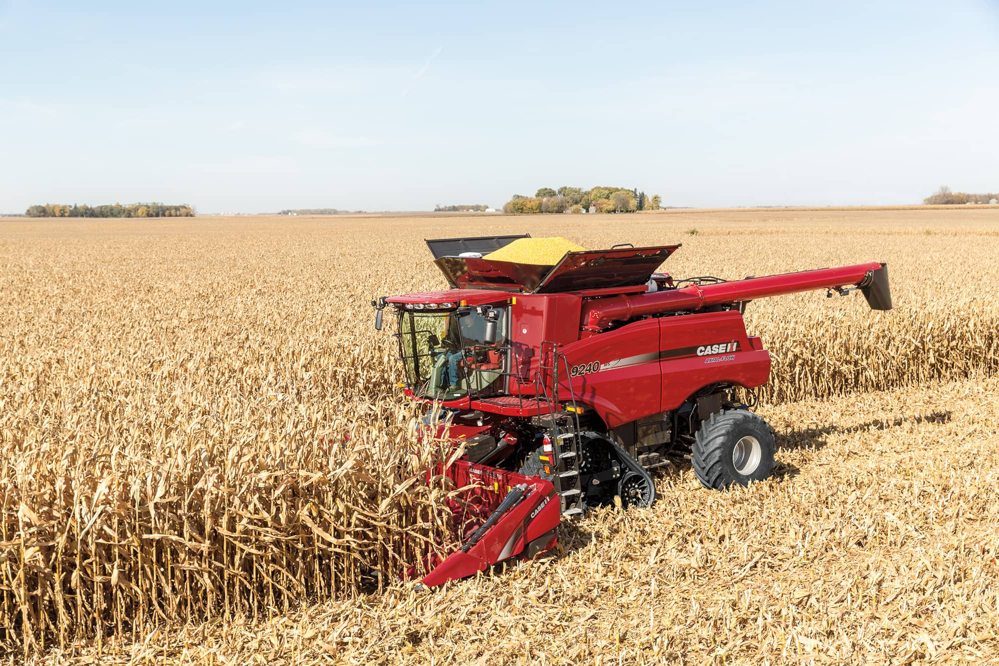 Corn Heads | Combine Harvester Equipment | Case IH