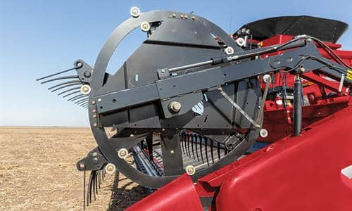 Versatile Reel Reduces Crop Loss In Any Field Condition
