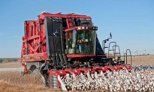 Cotton Harvesters: Monitor In Real Time