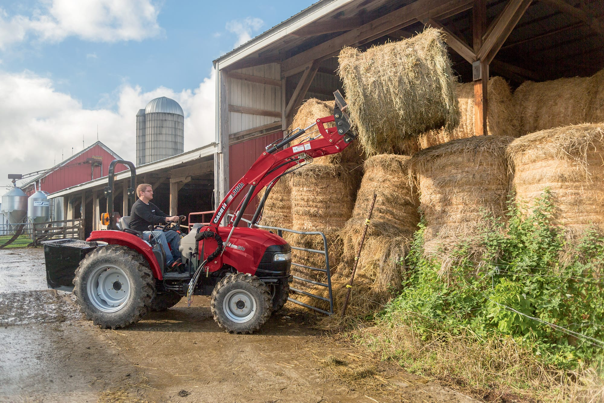 L360A Series Loaders | Farm Tractor Loaders | Case IH