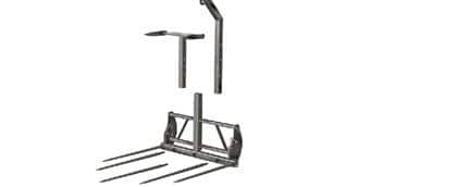 Deluxe Square Bale Fork