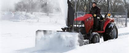 Quick-Attach Front Snowblower