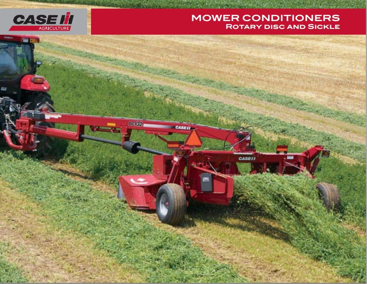Rotary Disc  and Sickle Mower Conditioners Brochure