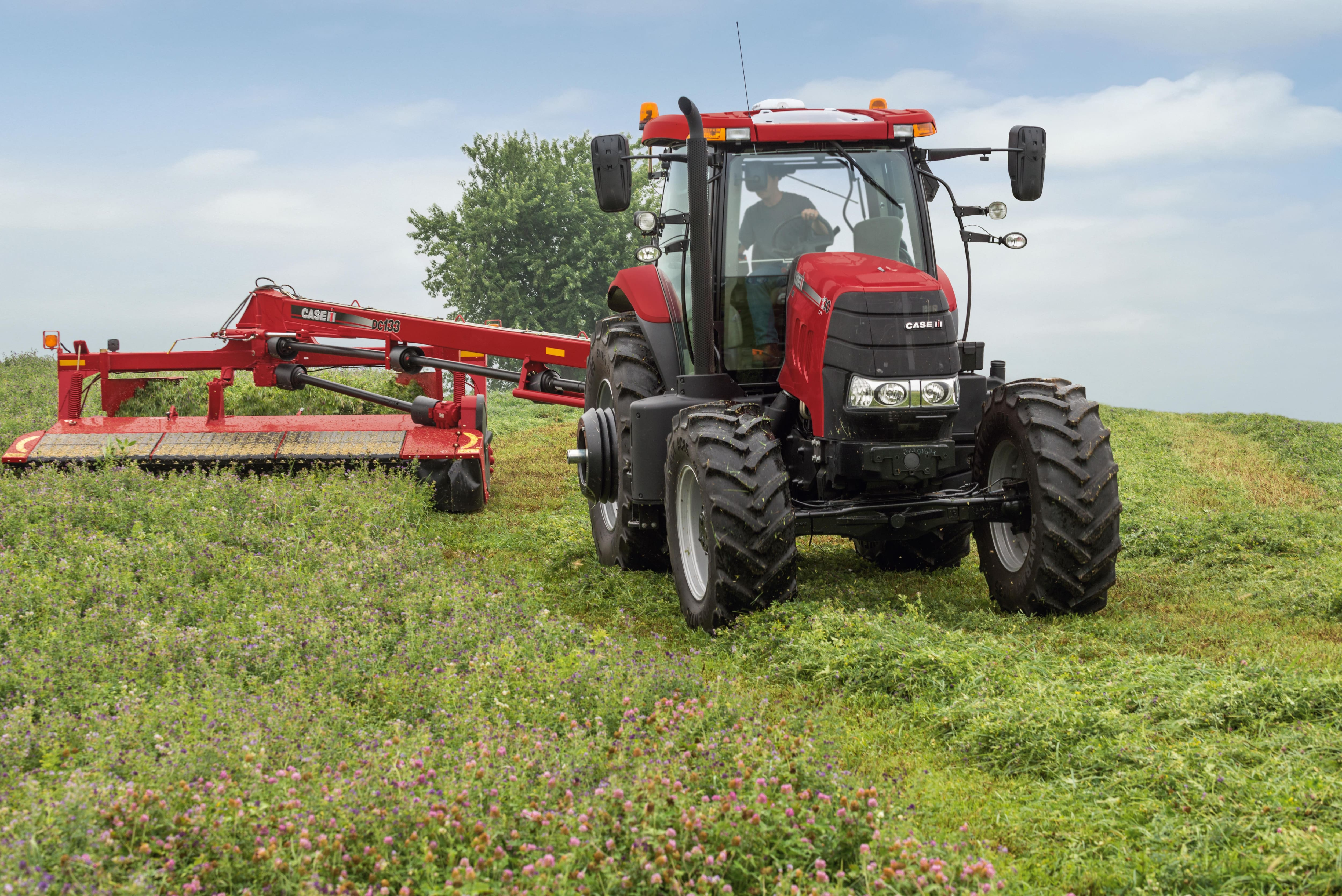 Rotary Disc Mower Conditioners | Hay Equipment | Case IH