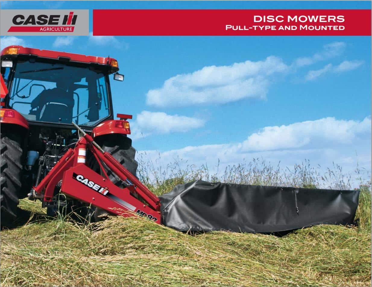 Disc Mowers Pull Type and Mounted