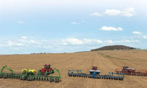 Early Riser 2000 Series Planter:  Competitive Test Plot Comparison