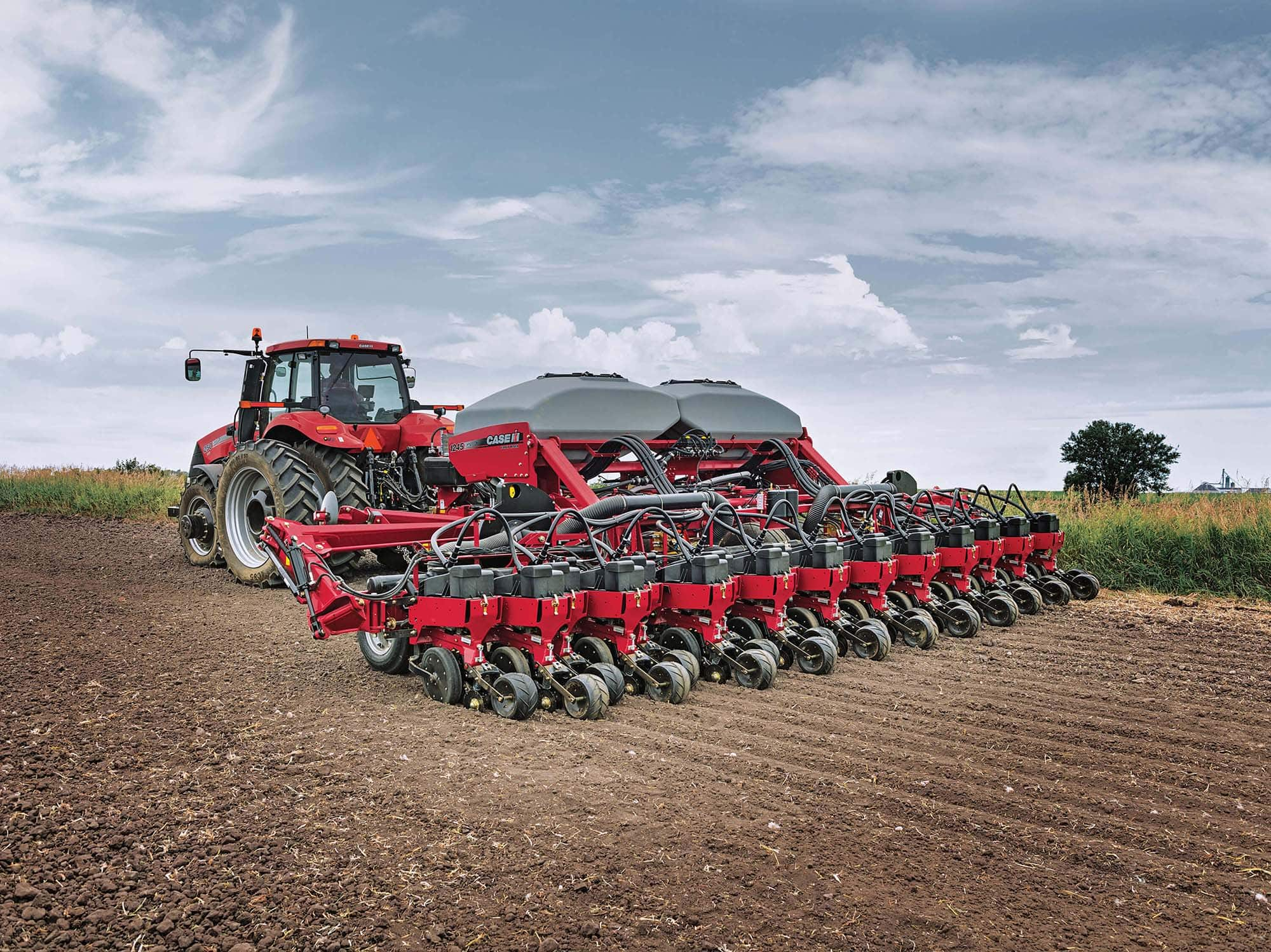 1245 Pivot Transport Trailing Early Riser Seed Planter Case Ih