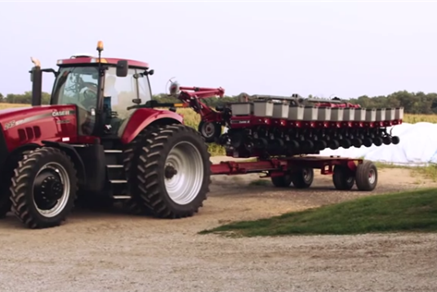 Early Riser Planter & Precision Planting: Grazing Land Needs Different Down Pressure