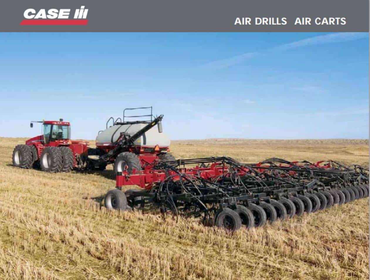 Air Drills and Air Carts Brochure