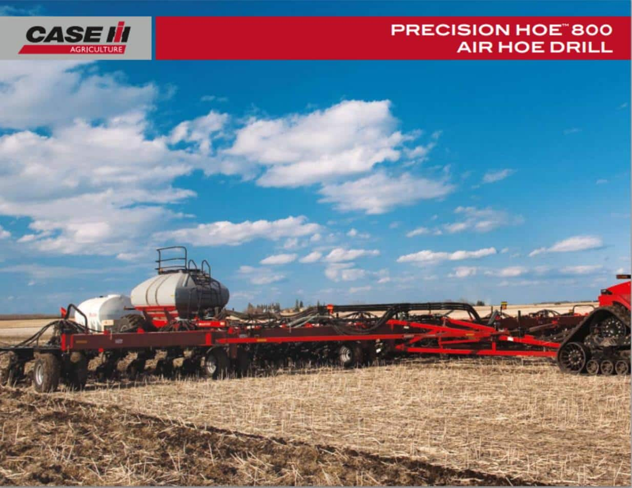 Precision Hoe Air Drill Spec