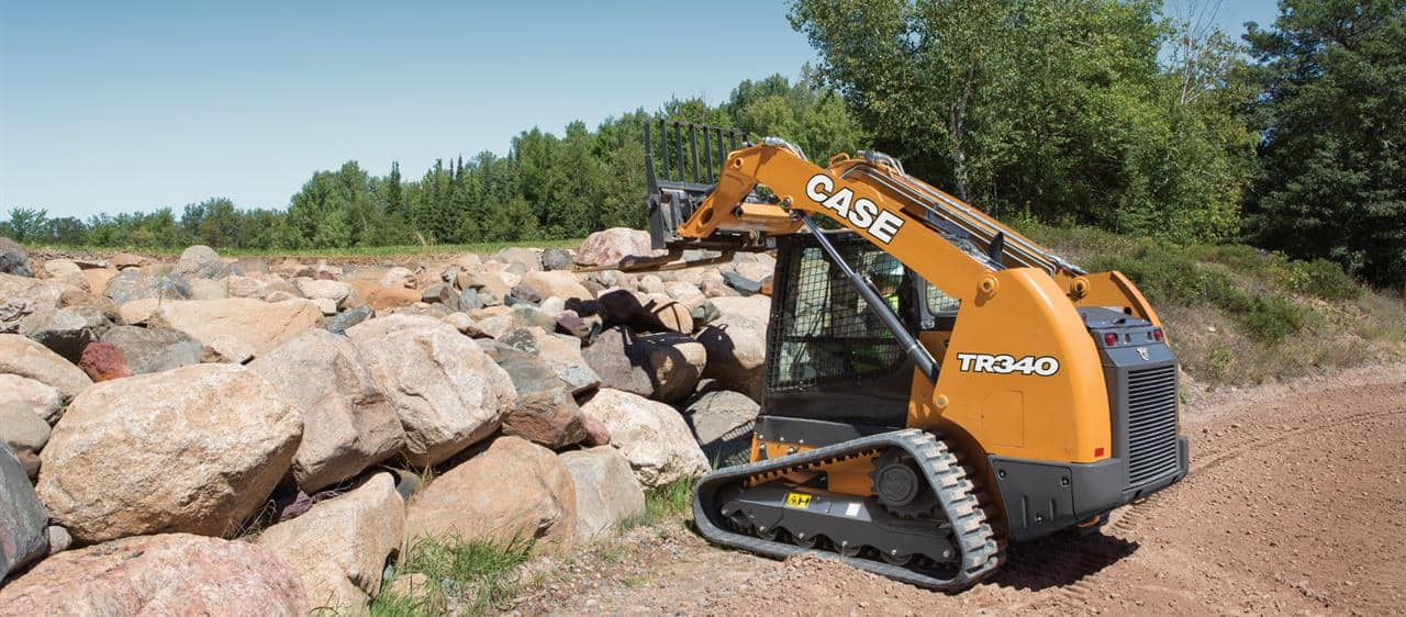 Case IH's Compact Track Skid Steers Loaders | Case IH