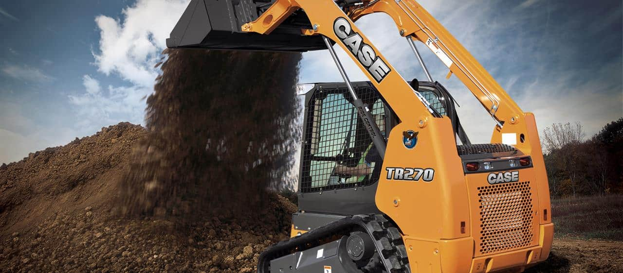 Compact Track Skid Steer