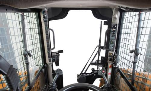 Cab Features: Visibility, Comfort and Control