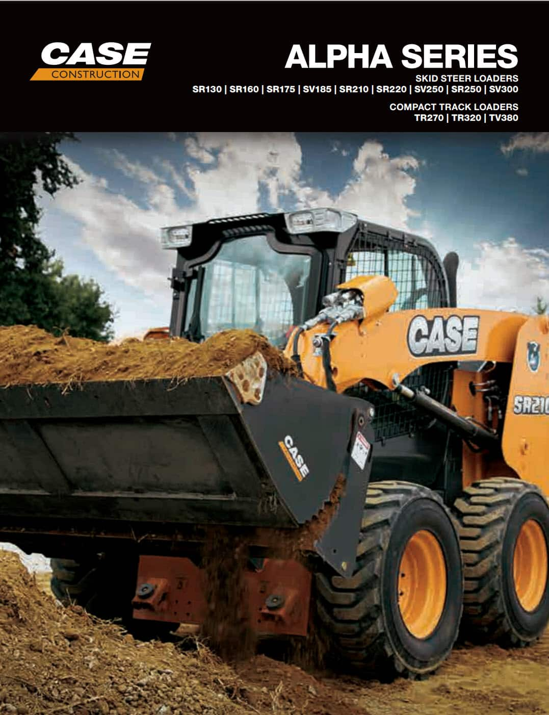 Skid Steers and Track Loaders Brochure