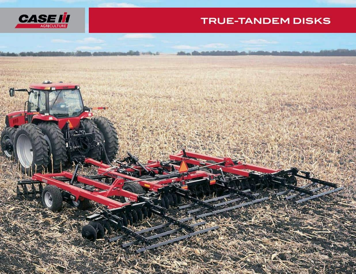 True-Tandem Disk Harrows Brochure