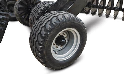 Larger Tires, Less Compaction