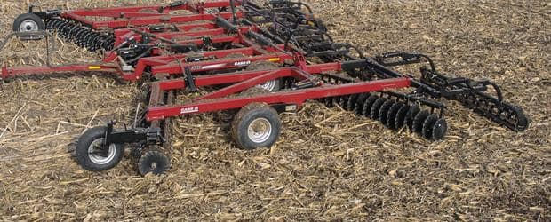 Vertical Tillage True Tandem 330 Turbo Case Ih