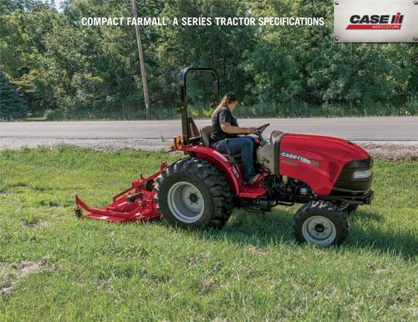 Farmall 31 Compact Tractor : Compact farmall a series case ih