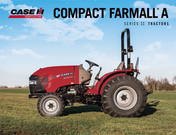 Farmall Compact Tractor : Compact farmall a series tractors case ih
