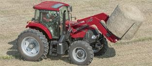 Farmall 140A Tractor with L754 Loader
