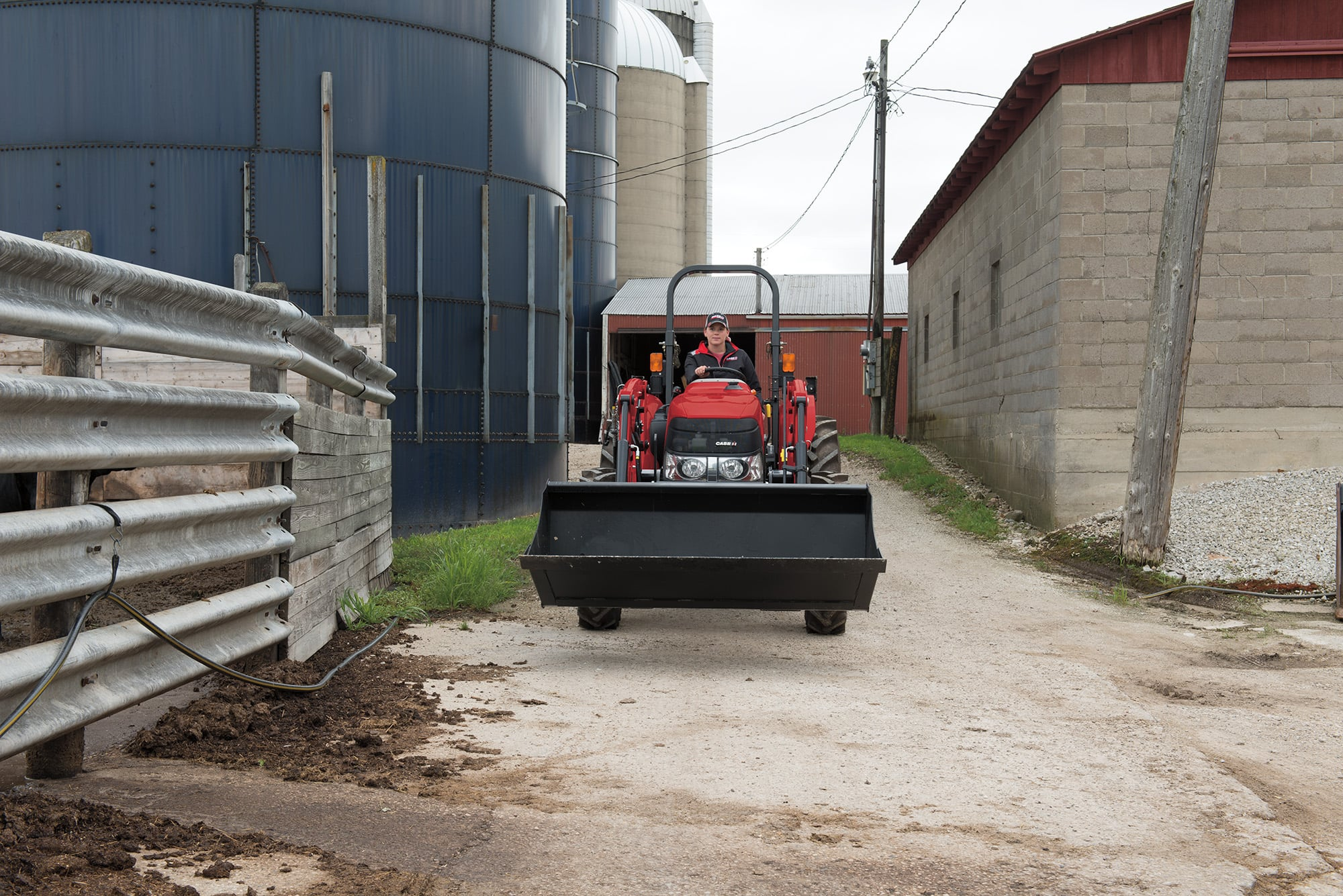 L555 Series Loaders | Tractor Loaders | Case IH