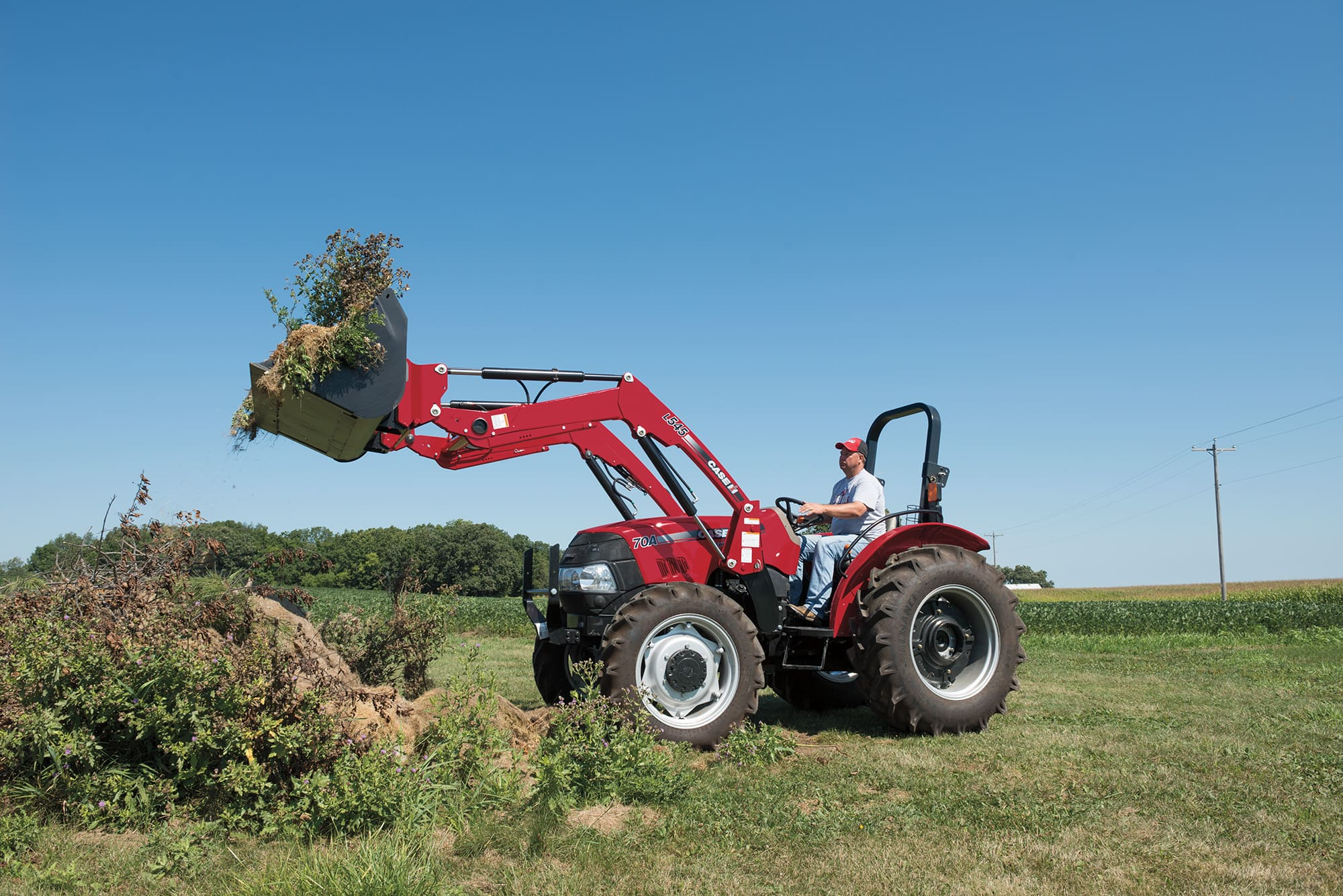 L505 Series Loaders | Tractor Loaders | Case IH