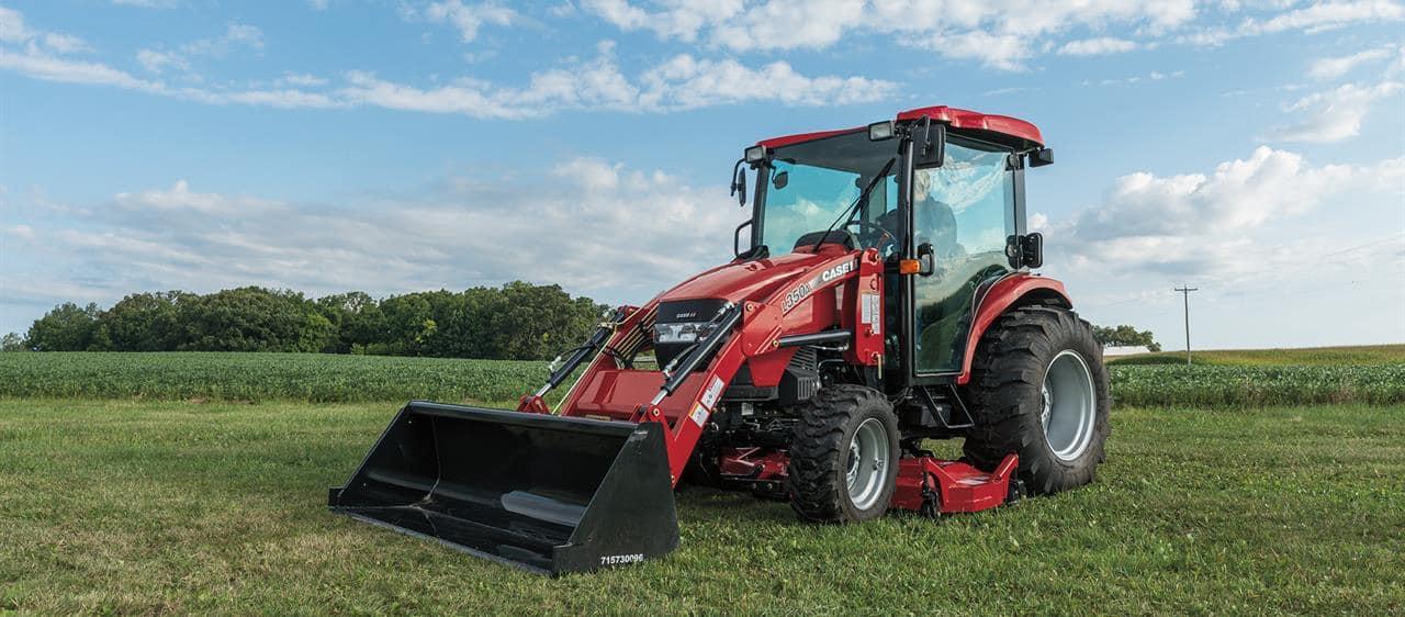 Farmall Compact Tractor : Compact farmall cvt series utility tractors case ih