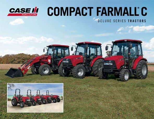 Farmall 31 Compact Tractor : Compact farmall c series tractors case ih