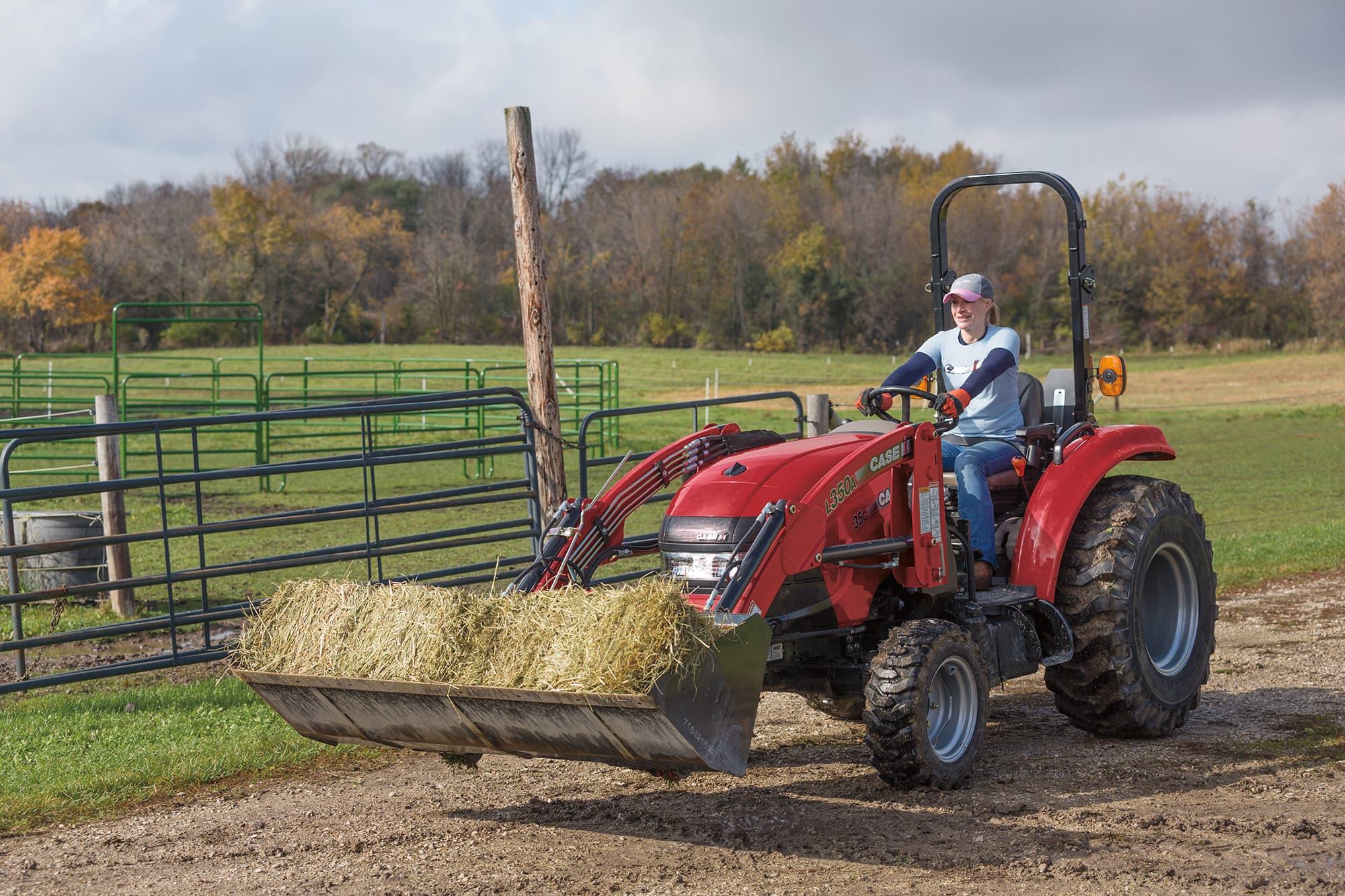 Compact Farmall 35C | Compact Utility Tractors | Case IH