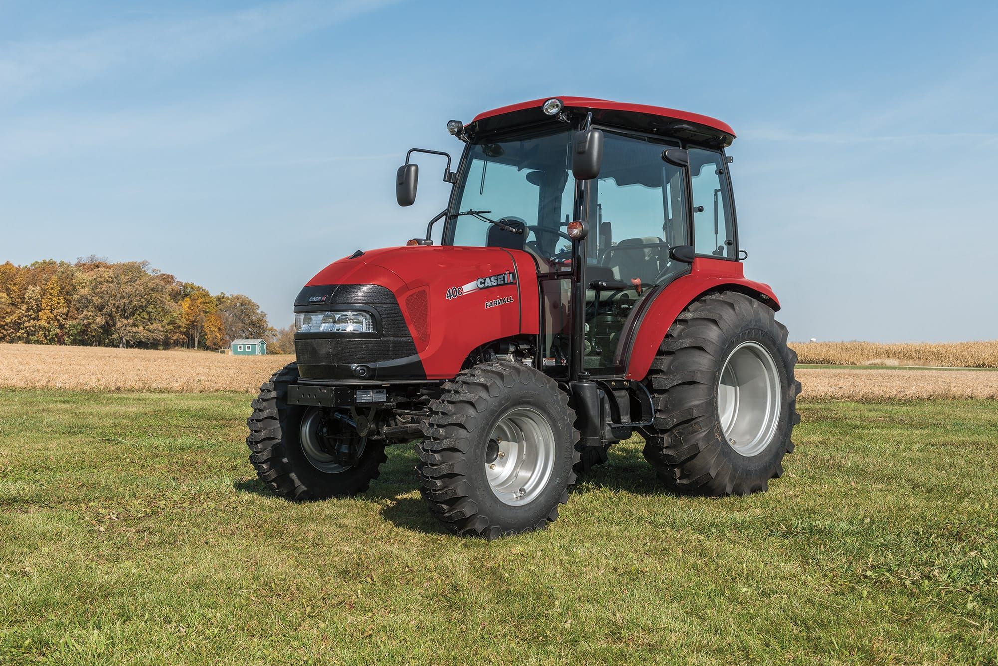 Compact Farmall 40C | Compact Utility Tractors | Case IH