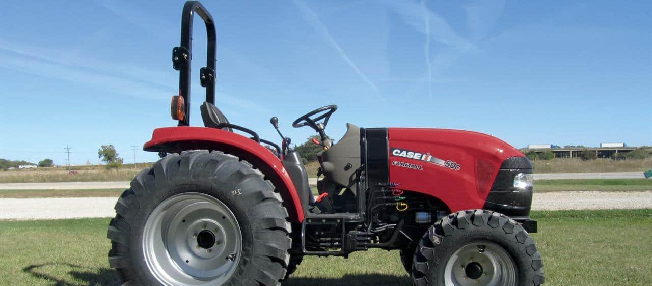 Farmall Compact Tractors : Compact farmall c series tractors case ih