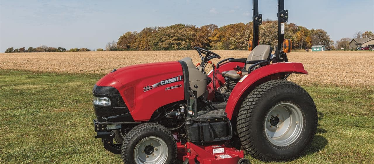 Case International Garden Tractors : Compact farmall c series tractors case ih