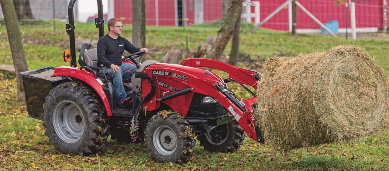 Compact Farmall C: Loaders and Attachments