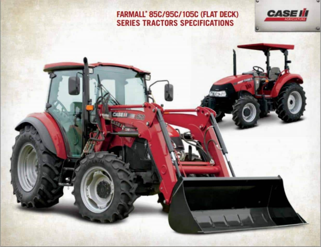 Farmall C Spec Sheet