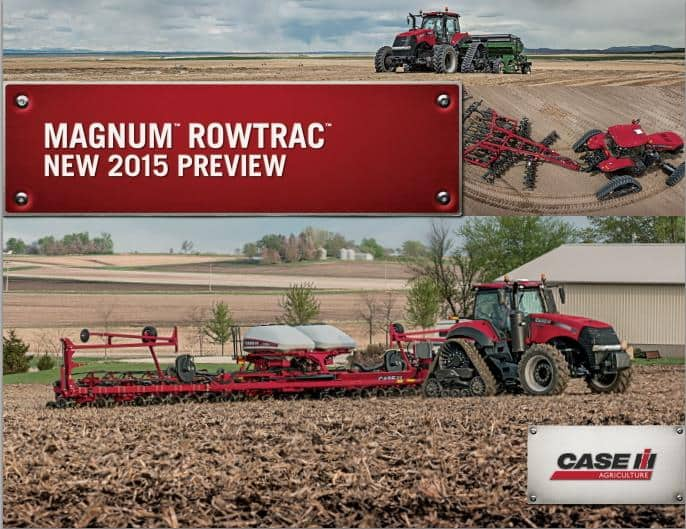 Magnum RowTrac 2015 Preview Brochure